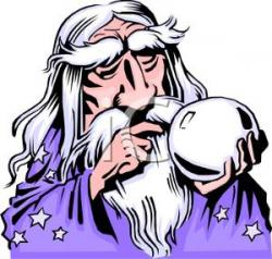 Wizard clipart crystal ball
