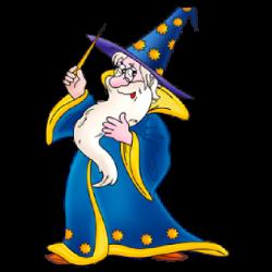 Magician clipart wizard