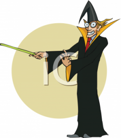 Wizard clipart magic man