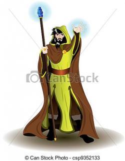 Wizard clipart magic staff