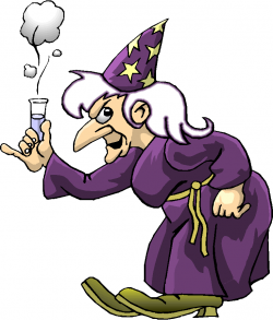 Sorcerer clipart angry