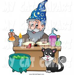 Alchemy clipart wizard