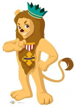 Wizard Of Oz clipart cowardly lion