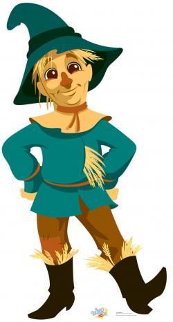 Scarecrow clipart simple