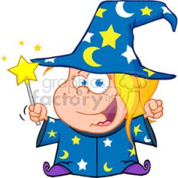 Wizard clipart magic