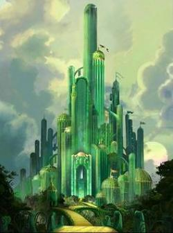 Wizard Of Oz clipart emerald castle