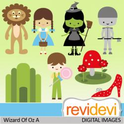 Wizard Of Oz clipart template