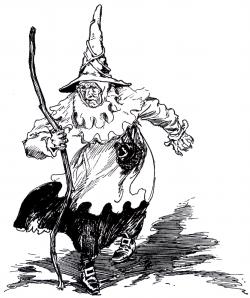 Drawn witchcraft oz witch