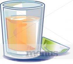 Vodka clipart shot glass
