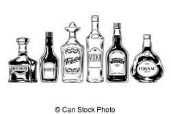Wodka clipart bar