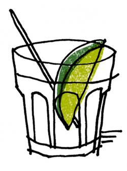 Wodka clipart gin and tonic