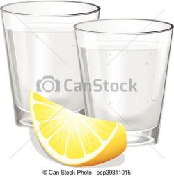 Vodka clipart highball glass