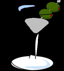Olive clipart martini