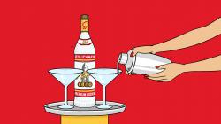 Wodka clipart stoli