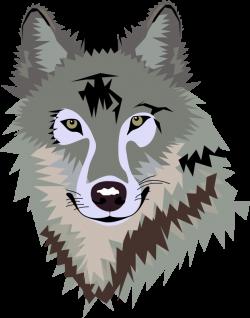 Werewolf clipart wolf face