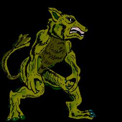 Apocalyptic clipart werewolf