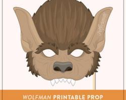 Werewolf clipart wolf mask