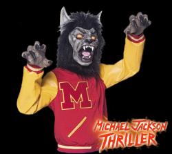 Werewolf clipart thriller