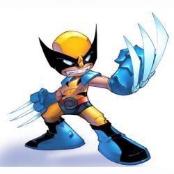Wolverine clipart cartoon