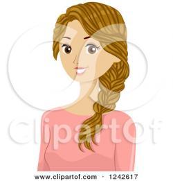 Braid clipart cartoon hair