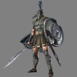Achilles clipart roman soldier