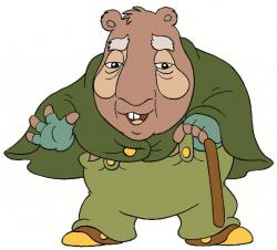 Wombat clipart animated
