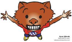 Wombat clipart fatso