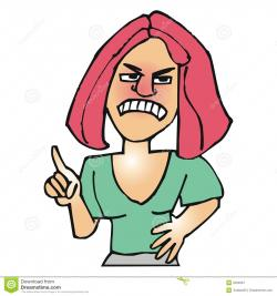 Anger clipart upset person