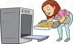 Baking clipart baking bread