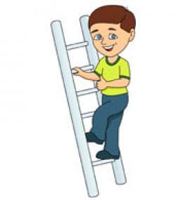 Climbing Tree clipart climbing ladder