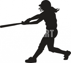 Shaow clipart softball