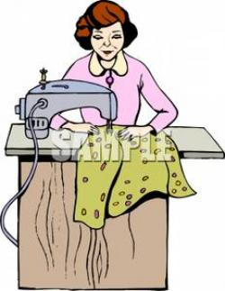 Woman clipart tailor