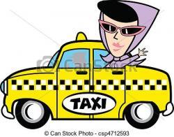 Women clipart taxi driver