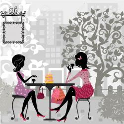 Tea Party clipart dinner party