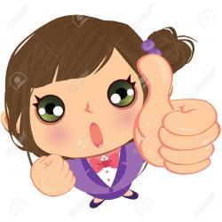 Women clipart thumbs up