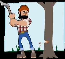 Wood clipart lumberjack