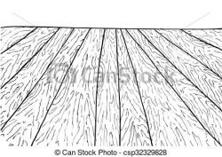 Wooden Floor clipart black and white