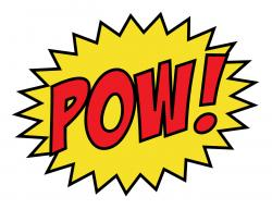 Boom clipart the word