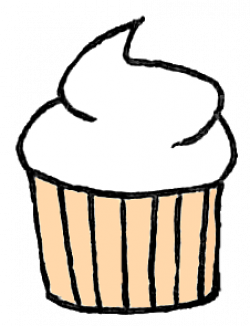 Vanilla Cupcake clipart deviantart