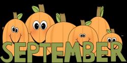 Pumpkin clipart september