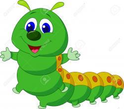 Inchworm clipart oruga