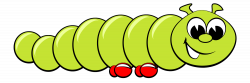 Caterpillar clipart cartoon