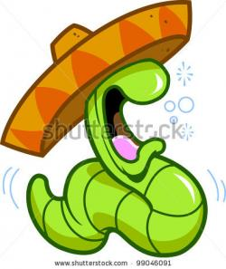 Worm clipart mexican drinking