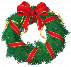 Candy Cane clipart christmas wreath