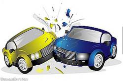 Wreck clipart car crash