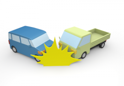 Traffic clipart truck accident