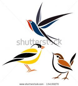 Goldfinch clipart wren