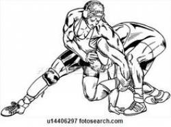 Wrestler clipart aware