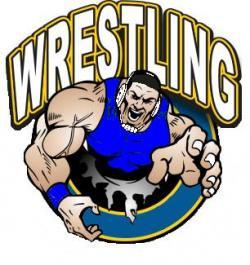 Wrestler clipart wrestling mat