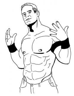 WWE clipart john cena